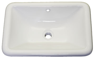 Bath Vanity Porcelain - Top Mount