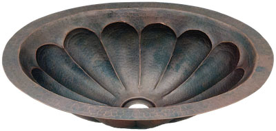 Copper Potter - Bath Vanity Dual Mount